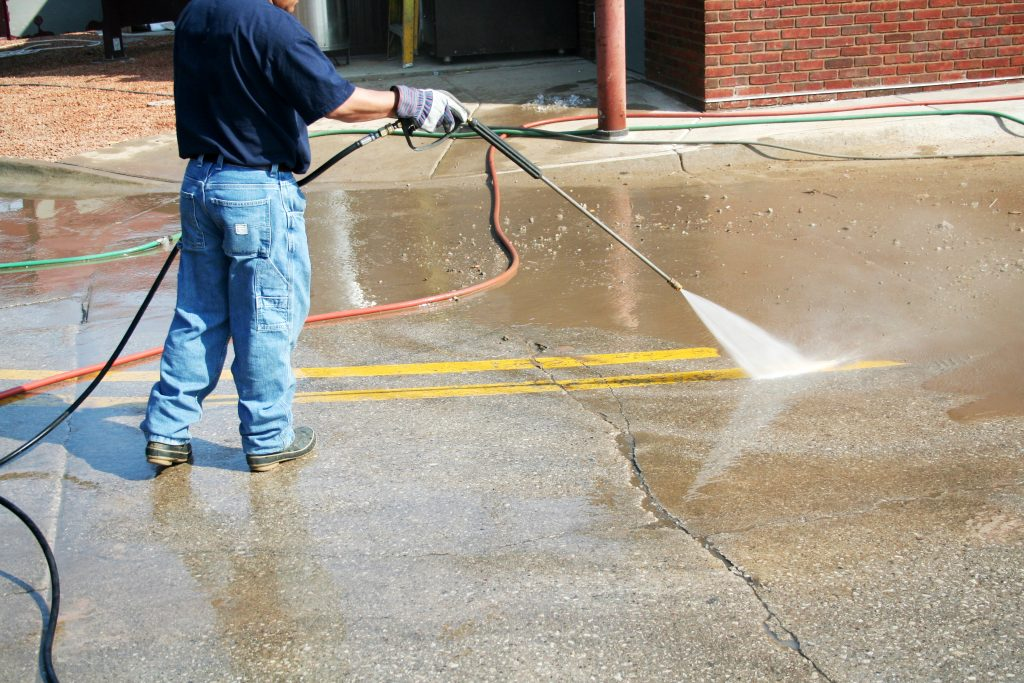 Pressure Washing Company Arlington