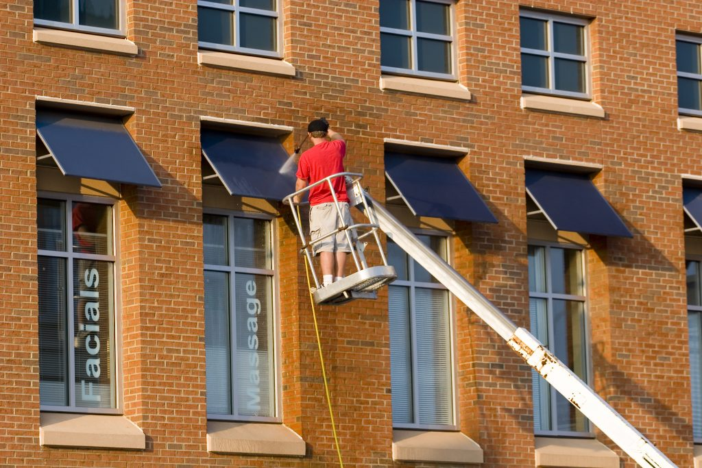 Awning Pressure Washing Arlington